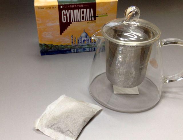 ギムネマ茶は1袋で3〜4リットル淹れることが出来ます